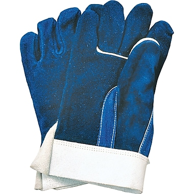 Heat-Resistant Leather Gloves, SA516, Split Leather, 3/Pack