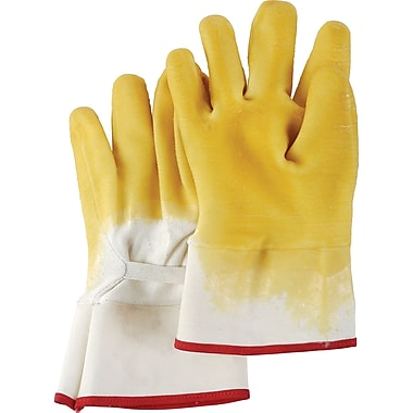 Nitri-seal Palm Coated Gloves, SA534, Cotton, Jersey, 12/Pack