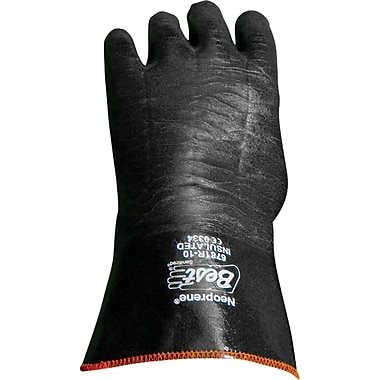 Gloves, Insulated Neoprene 12 Inches, SA557, Neoprene, 3/Pack