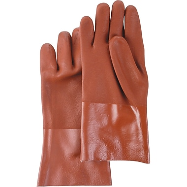 Hustler PVC Gloves, SA575, PVC, 6/Pack