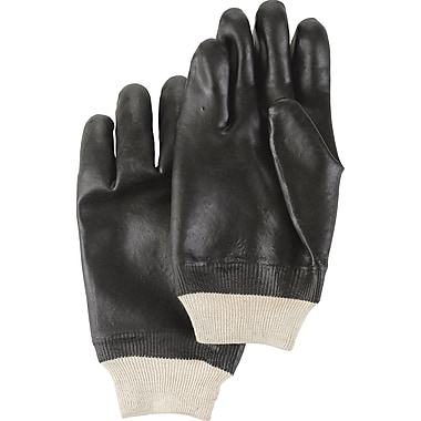 Black Knight PVC Gloves, SA583, PVC, 36/Pack