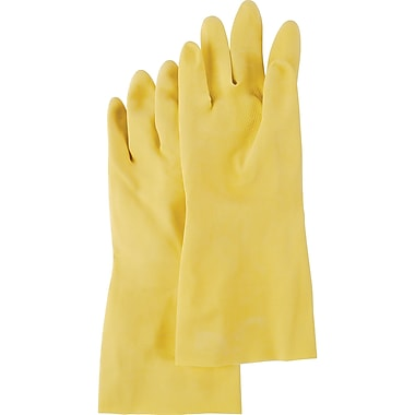 Value Master Natural Rubber Gloves, SA628, Natural Rubber, 72/Pack