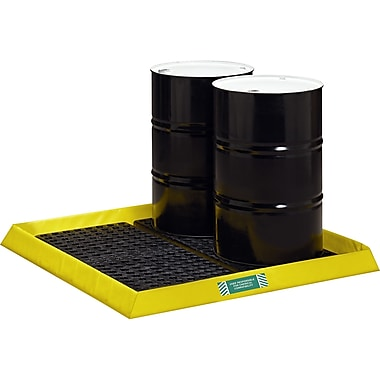 Spillpal Flexible Workstations Without Grates, SAF816, Number of Drums - 4