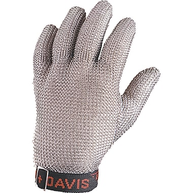 Reversable Stainless Steel Mesh Gloves, SF868, Stainless Steel