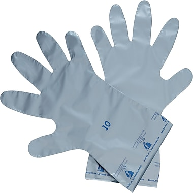 Silver Shield 4H Series Gloves, SAJ961, Pe, Evoh, 12/Pack