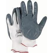 Zorb-It Sponge Nitrile Palm Coated Gloves, SAK967, Nylon, 12/Pack