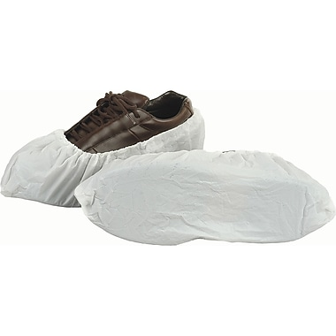 SHOE COVERS POLYLATEX SEAMLESS WHITE XL 300/CASE, SAM032, X-Large