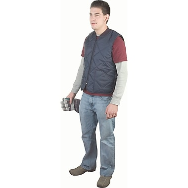 Light-Duty Insulated Cooler Jackets, Vests & Coats, SAN549, 3/Pack