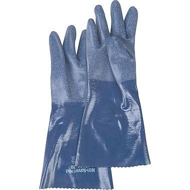 NSK24 Nitri-Solve Knit Gloves, SAN699, Nitrile, 12/Pack