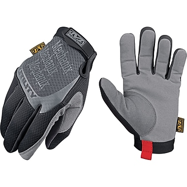 Men's Utility Gloves, SAN721, Synthetic Leather, Spandex, Lycra, 3/Pack