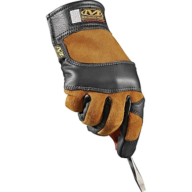 Fabricator Gloves, SAN871, Cowhide Leather, 2/Pack