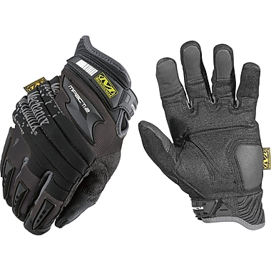 M-Pact 2 Heavy-Duty Gloves, SAN966, Eva Foam, Thermal Plastic Rubber (Tpr), Neoprene, 2/Pack