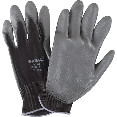 Hi-Tech Assembly Palm Coated Gloves, SAO087, Nylon, 36/Pack