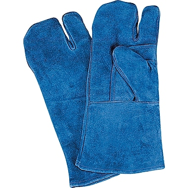 Welders' Superior Quality Gloves, SAO129, Split Cowhide Leather, 12/Pack