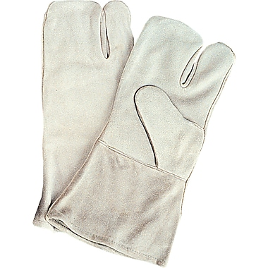 Welders' Standard Quality Gloves, SAO131, Split Cowhide Leather, 12/Pack