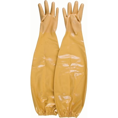 Shoulder Length Nitrile Gloves, SAP529, Nitrile, 4/Pack