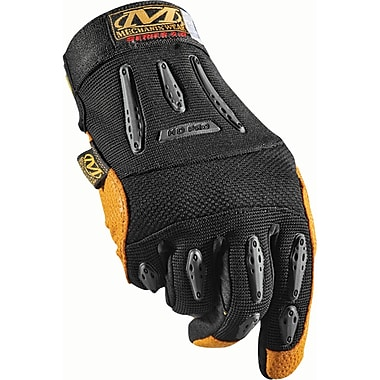 Heavy-Duty Mechanic Gloves, SAP854, Leather, Thermal Plastic Rubber (Tpr), 2/Pack