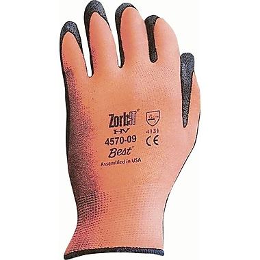 Zorb-It HV Palm Coated Gloves, SAR531, Nylon, 12/Pack