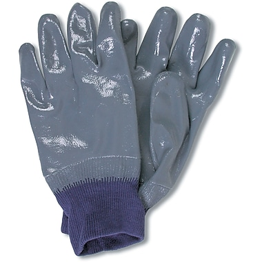 Nitri-flex Nitrile Gloves, SC449, Cotton Interlock, 12/Pack