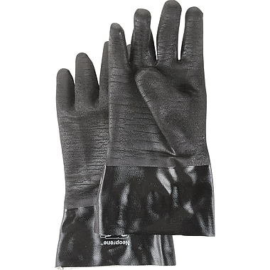 Premium Grade Neoprene Gloves, SC457, Neoprene, 4/Pack