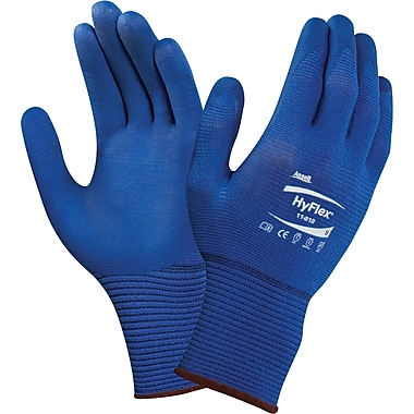 Hyflex 11-818 Gloves, SDM261, Nylon/Spandex, 36/Pack