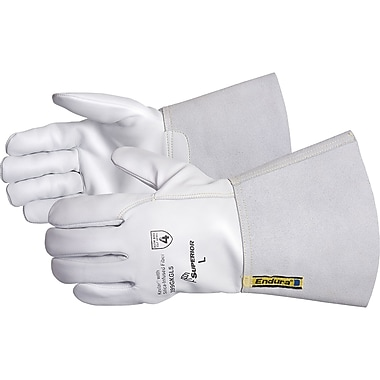 Endura Goat-Grain Driver Gloves, SDN472, Leather, 2/Pack