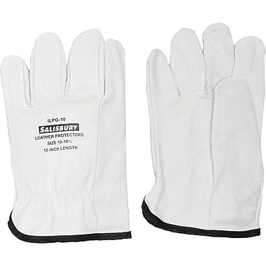 Leather Protector Gloves, SED868, Leather, 2/Pack