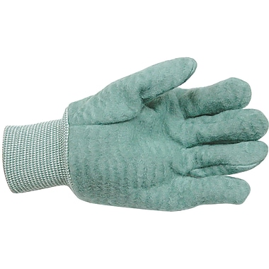 Original Super Green King Gloves, SED899, Cotton, Flannel, 12/Pack