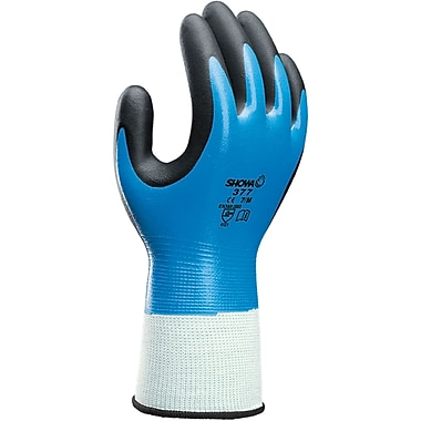 Showa 377 Gloves, SEI868, Seamless Nylon, 12/Pack