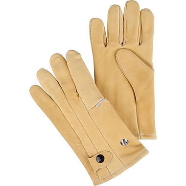 Leather Driver Style Gloves, SEK147, Cowhide Leather, 2/Pack