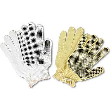 Dotted Nylon Knit Gloves, SF873, Nylon, 36/Pack