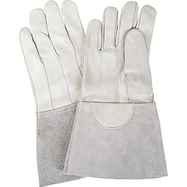 Glove Tig Welding Grain Leather Sheepskin, Medium, SM594, 6/Pack