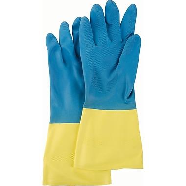 Two Tone NS53 Gloves, SN735, Neoprene, Rubber Latex, 36/Pack