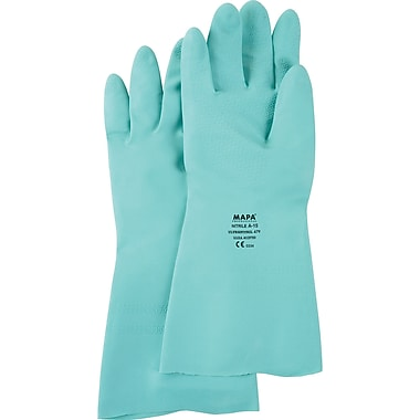 StanSolv Z-Pattern Grip Gloves, SN791, Nitrile, 4/Pack