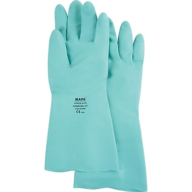 StanSolv Z-Pattern Grip Gloves, SN785, Nitrile, 36/Pack
