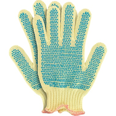 Kevlar Knit Gloves with PVC Dots, SQ279, Kevlar, Pvc, 5/Pack