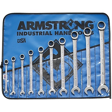 Combination Wrench Sets - 10-PC. SAE GEARED, Wrench Set, TDQ944
