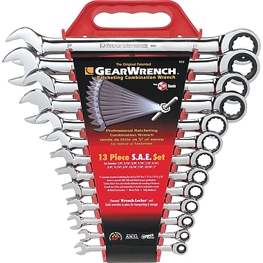 Combination Ratcheting Wrench Set - 13 Pieces, Wrench Set, TDS803