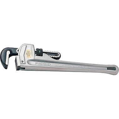 Aluminum Handle Straight Pipe Wrench No.824, Pipe Wrench, TR013