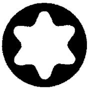 Klein Cushion, Grip Screwdrivers, Round Shank, Torx Tip, TV536, 4/Pack