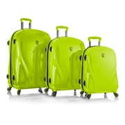 Heys X Case 2g Electro Lime 100% Polycarbonate 3 Pc Set (15027-0042-S3)