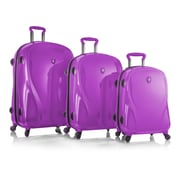 Heys X Case 2g Radiant Orchid 100% Polycarbonate 3 Pc Set (15027-0103-S3)