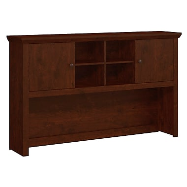 Bush Yorktown 60W Hutch, Antique Cherry