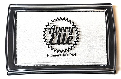 Avery Elle Pigment Ink Pad, Pure White
