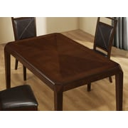 "Monarch Specialties 40""H Fabric Dining Chairs, Brown, 2 Chairs (I 1936)"