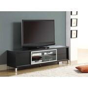 "Monarch Specialties 70""L Euro style TV stand, Cappucino (I 2530)"