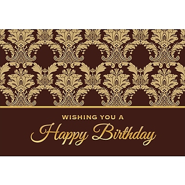 Cartes de souhaits, « Wishing You A Happy Birthday », 18/paquet