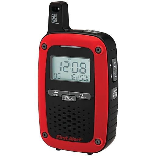 FIRST ALERT JENSFA1135 Portable AM/FM Digital Weather Radio with Same Weather Alert