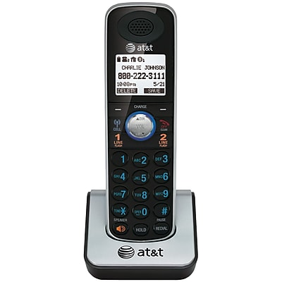 AT&T ATTTL86009 2-Line Dect 6.0 Corded/Cordless Phone System with Bluetooth and Additional Handset