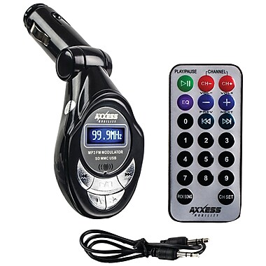 AXXESS MOBILITY Wireless FM Modulator with SD Card Slot (MECAXMDC06)